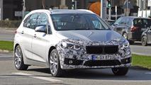 2018 BMW 2 Series Active Tourer facelift spy photo