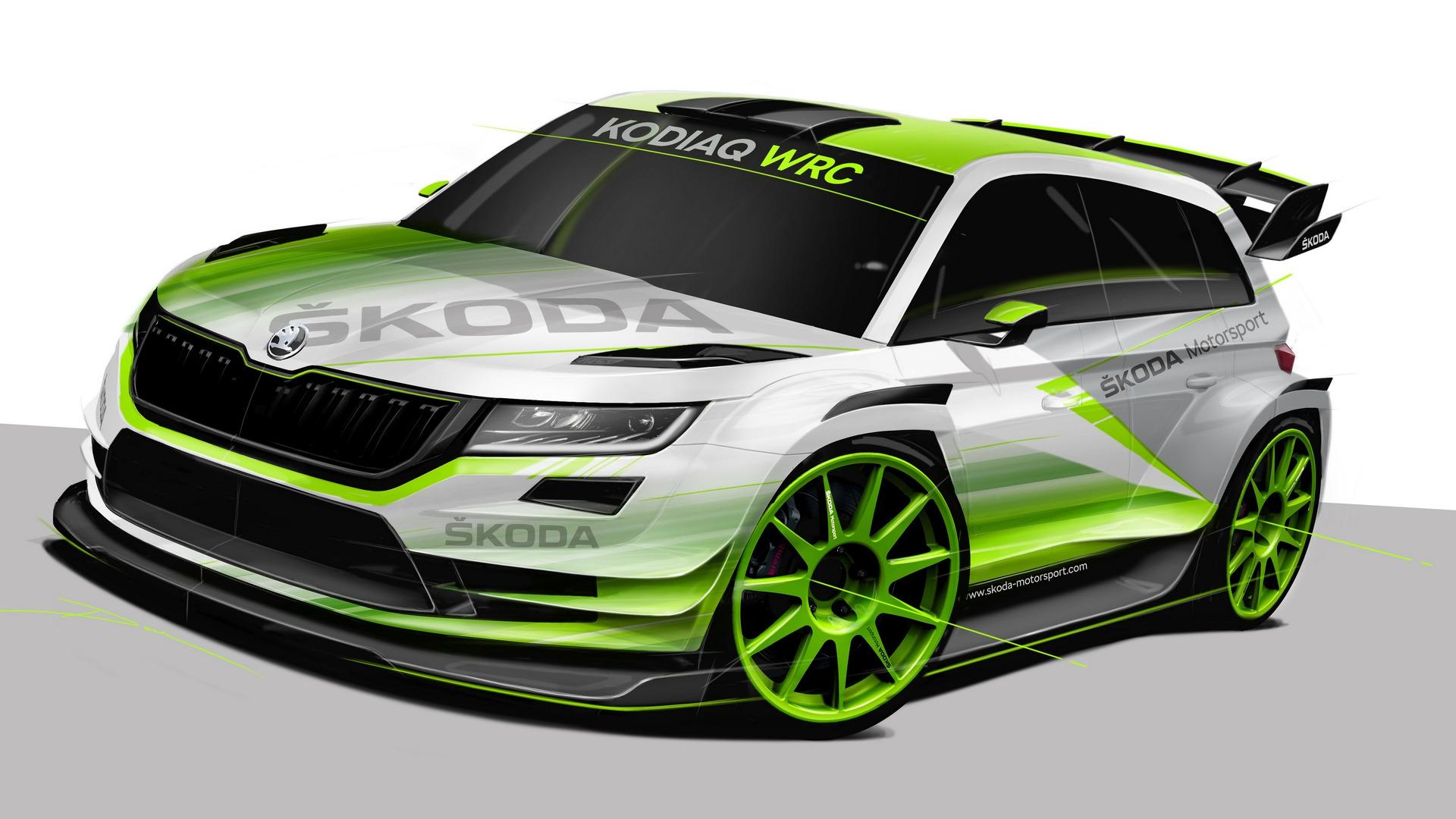 2018 Skoda Kodiaq WRC Breaks Cover