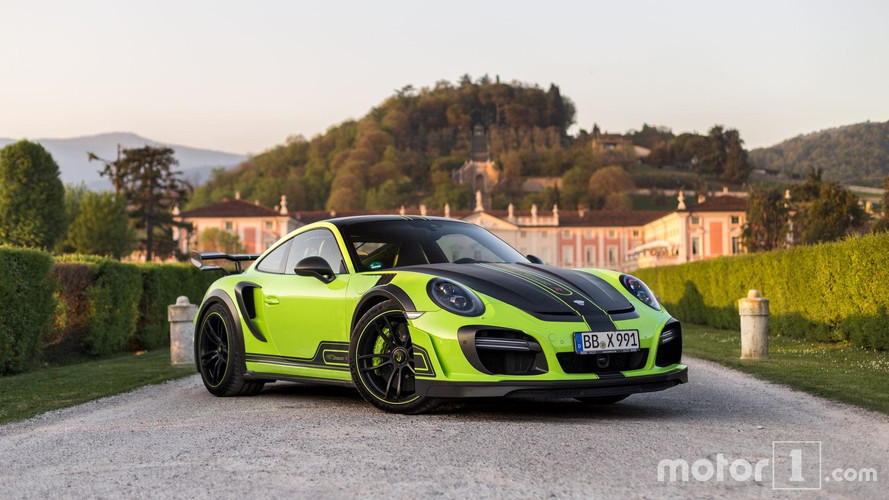 PHOTOS - La Porsche 911 GTstreet R par TechArt