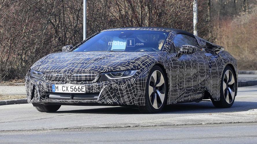 BMW i8 Roadster, coupe'ye göre iki kat menzille gelebilir