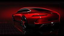 Teaser do Mercedes-AMG GT Concept