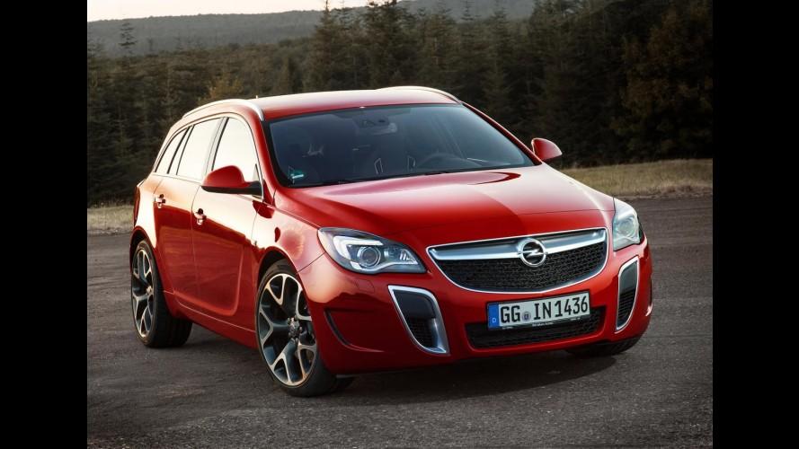 Opel Insignia OPC Sports Tourer de 325 cv é o mais potente da marca