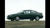 Opel comemora aniversário de 25 anos do cupê Calibra; veja galeria
