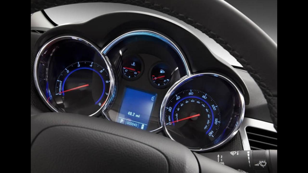 Chevrolet Cruze chega ao Brasil em agosto com motor 1.8 16V Ecotec Flex