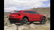 Lamborghini Urus Concept aparece em primeiras imagens oficiais antes da hora