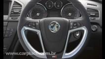 Antes da Opel: Vauxhall revela oficialmente o Insignia VXR 2010 - Versão esportiva tem 325cv