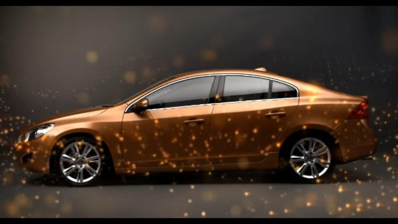 Para celebrar o ano novo: Volvo divulga VÍDEO com mais detalhes do Novo S60