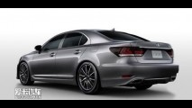 Novo Lexus LS 2013 tem imagem divulgada