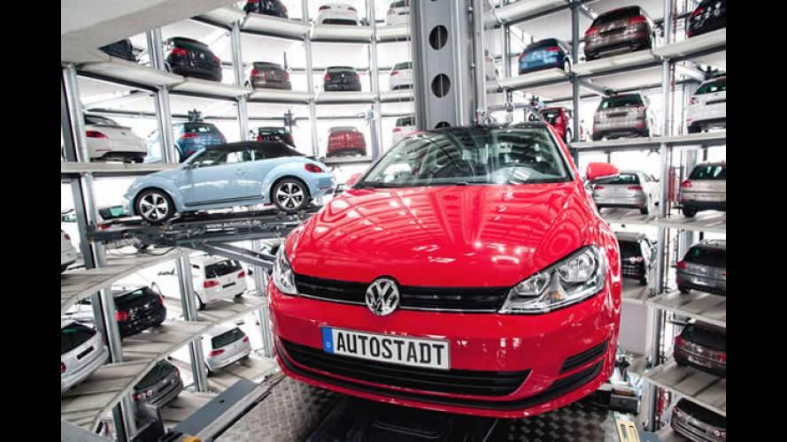 Top Europa: Volkswagen lidera entre marcas e Golf passeia