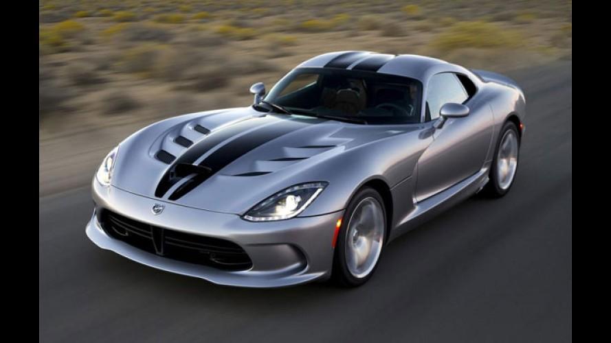 Dodge revela Viper SRT 2015 com mais potência e edições especiais