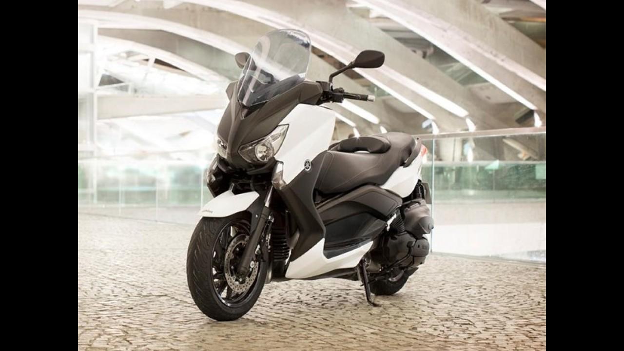 Devagar no Brasil, Yamaha apresenta nova X-Max 400 na Europa