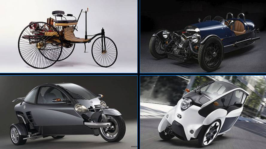 Check Out 10 Cars That Only Had Three Wheels