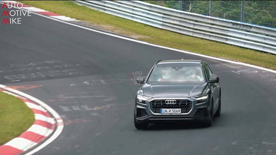 Audi SQ8 Sounds Fierce During Nürburgring Test