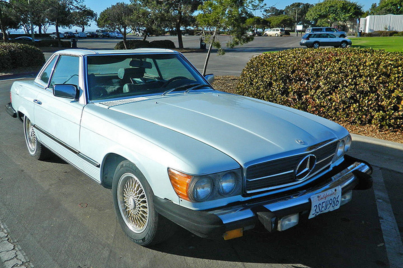 Own a Unique Mercedes-Benz SL with a Big Power Boost