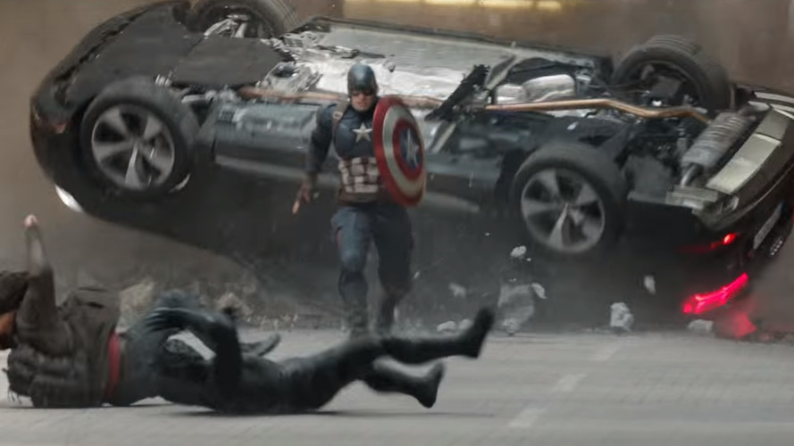 Audi Q7s are everywhere in new scenes from Captain America: Civil War