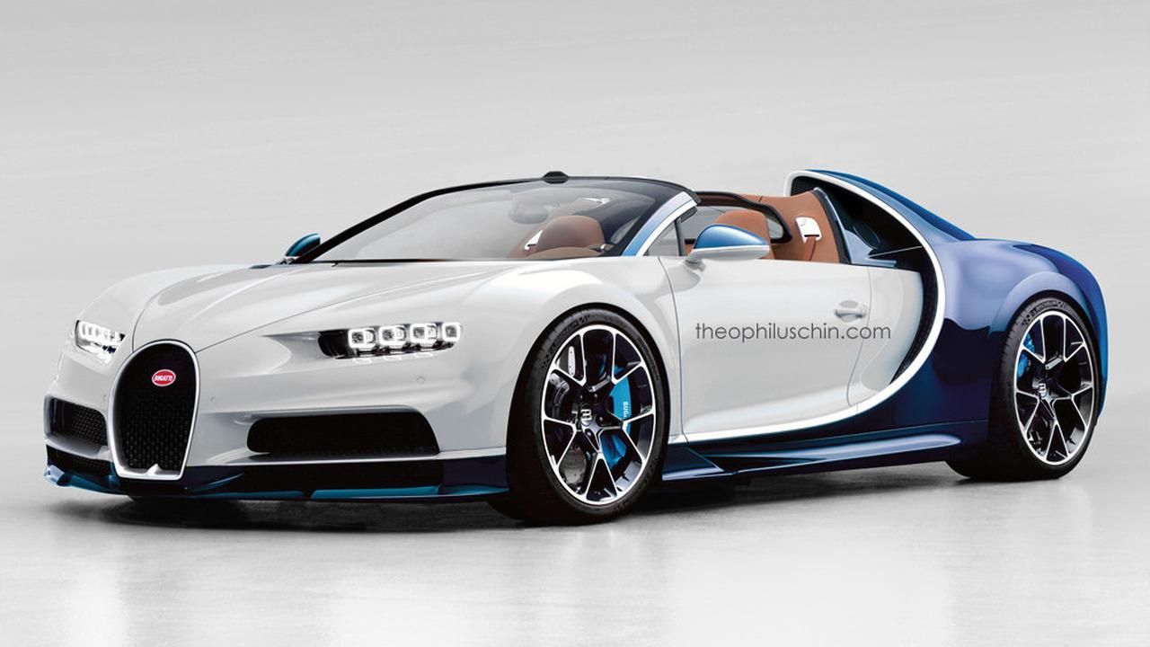 Bugatti Chiron Grand Sport rendering