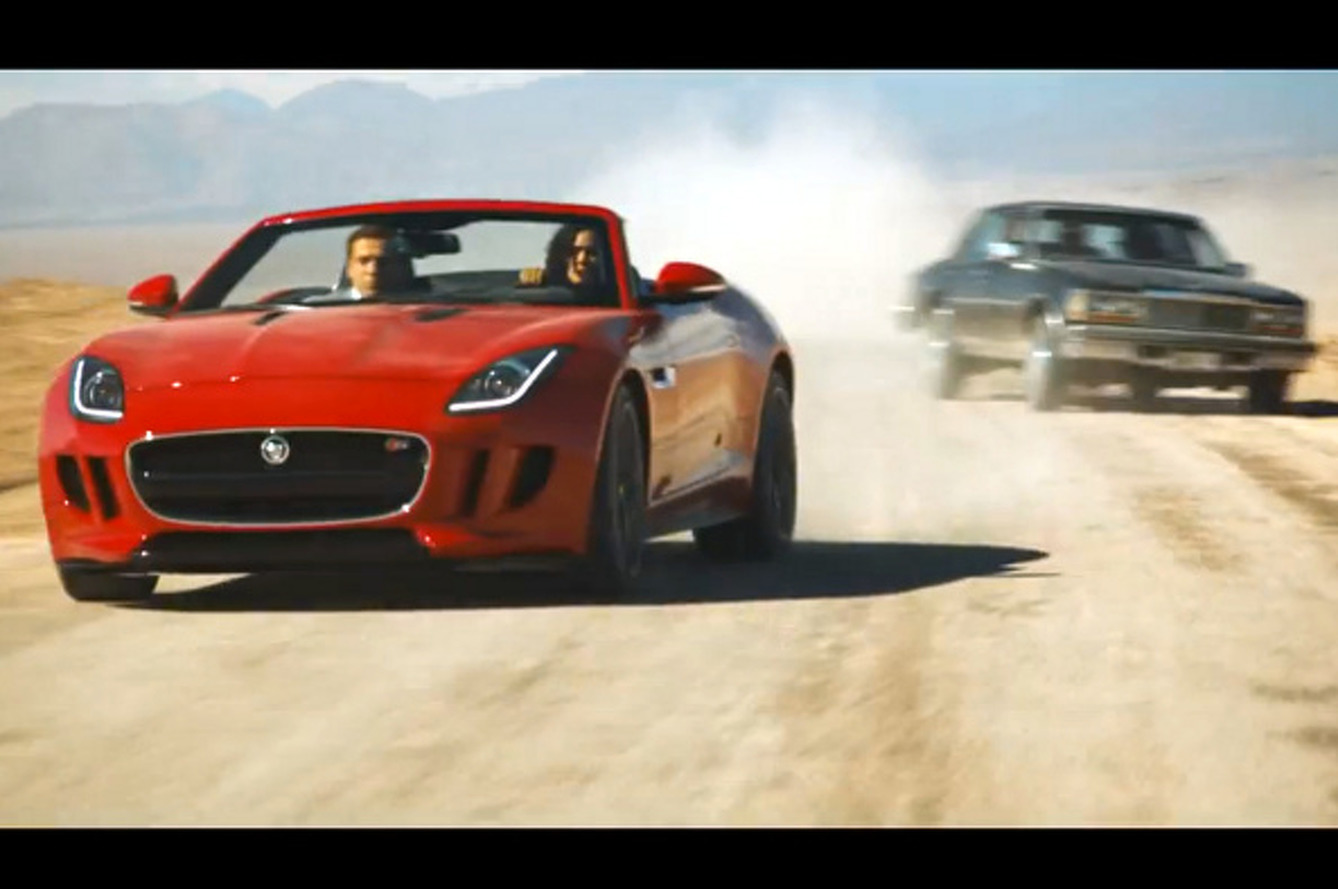 Video: Jaguar F-Type Stars in Ridley Scott Short Film