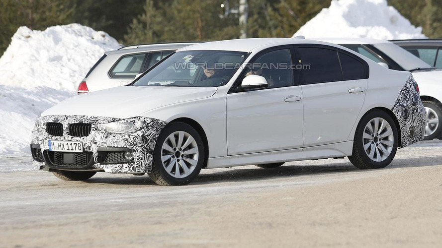 Three 2016 BMW 3-Series prototypes spied, including the M Sport & LWB variants