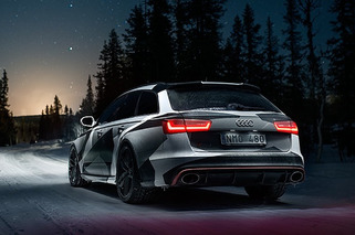 Jon Olsson's Audi RS 6: Winter Wagon Wonderland