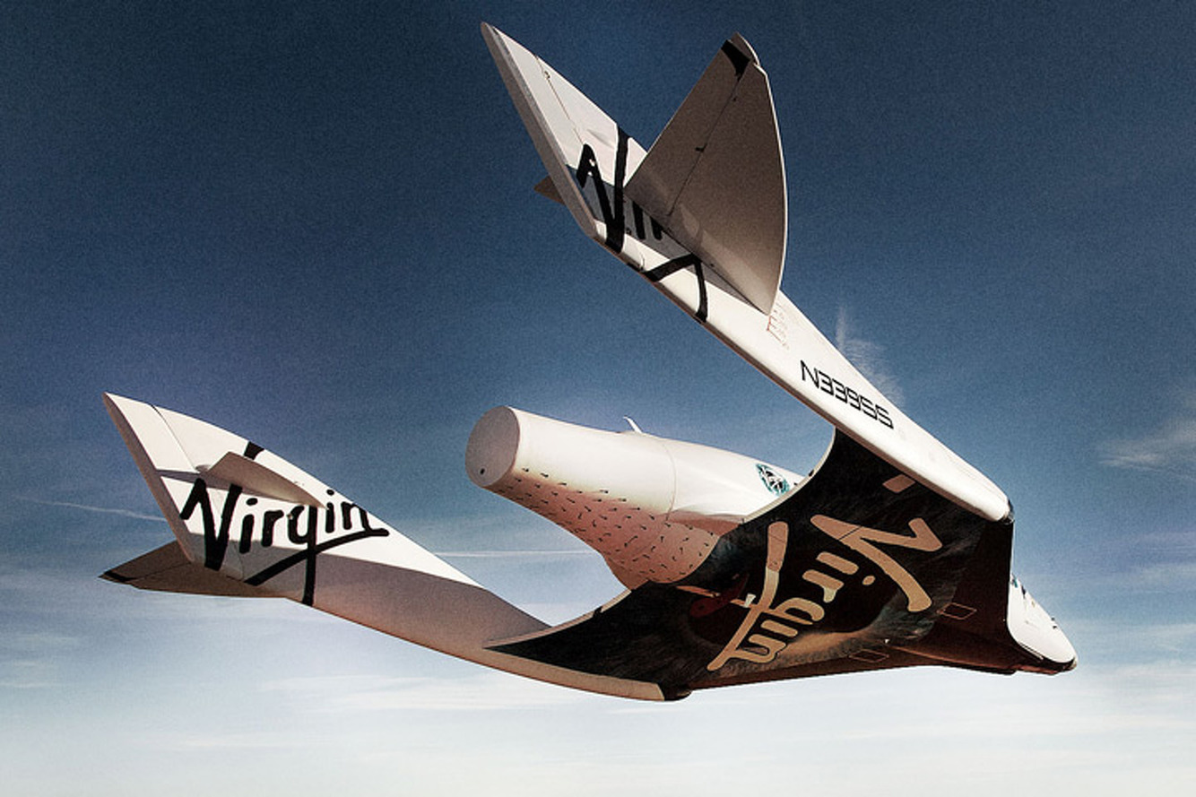 Virgin Galactic's SpaceShipTwo Crashes in Mojave
