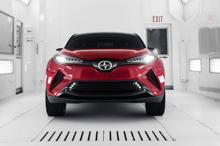 The Edgy Scion C-HR Could Show Its Production Skin in Detroit