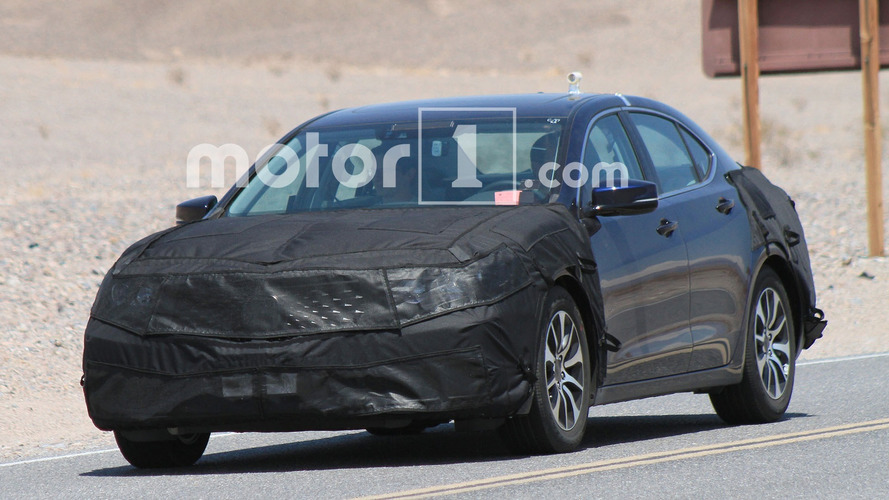 2018 Acura TLX Spy Photos