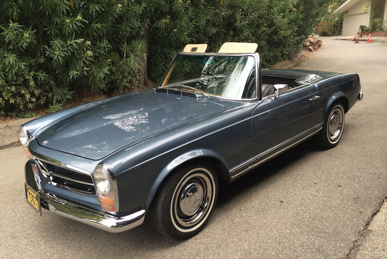 This Mercedes-Benz 250SL is the Ultimate Classic Cruiser