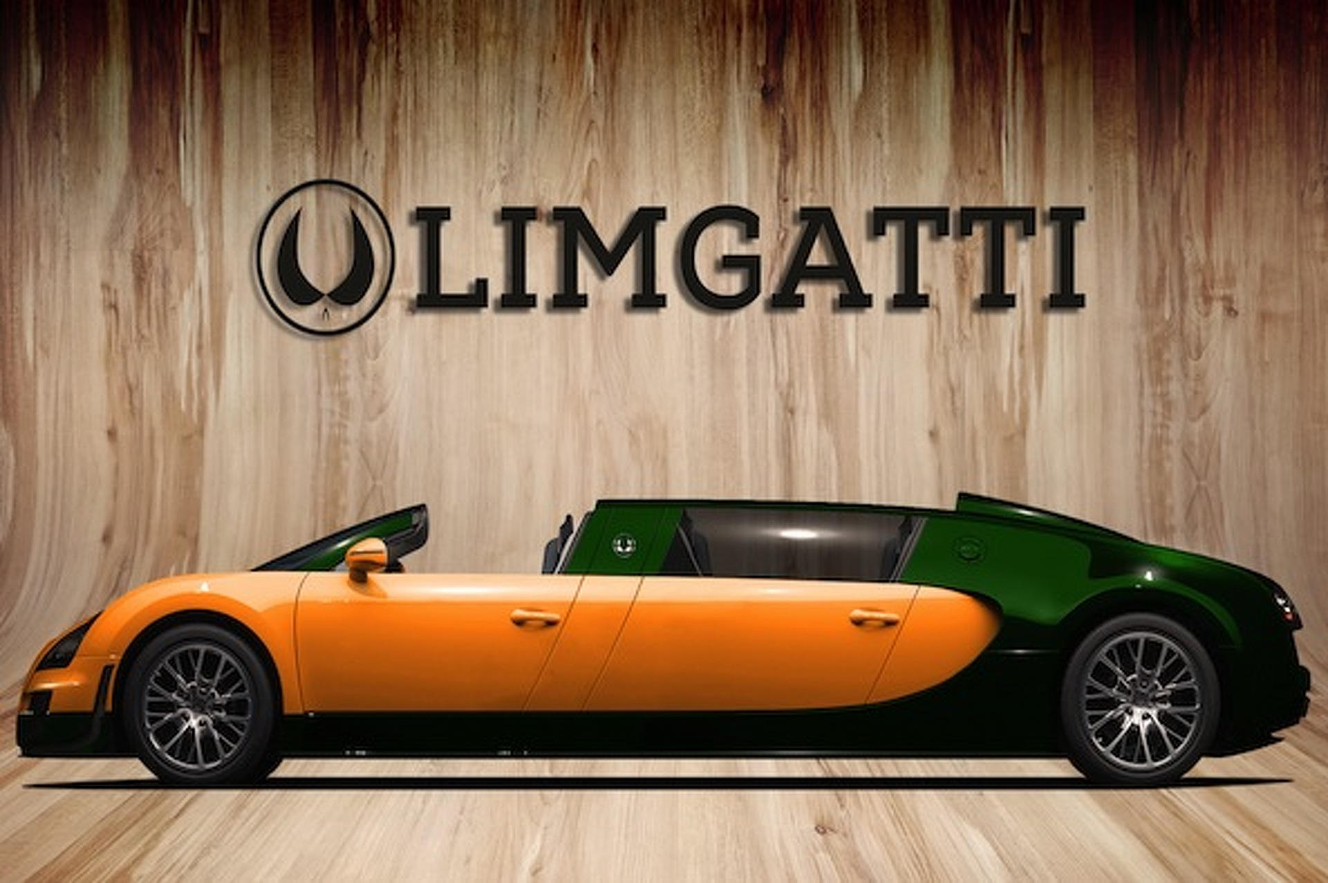 9 Year Old Dreams Up A Bugatti Limo Concept