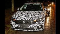 Fiat Tipo Schrägheck: Erlkönig verrät Details