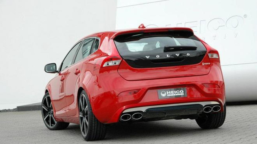 Heico tuned Volvo V40 first photos released