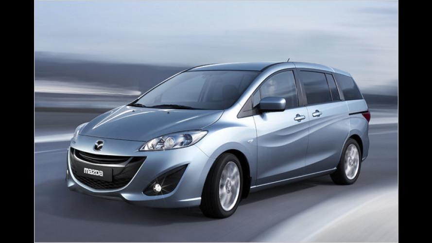 Neuer Mazda 5: Weltpremiere auf dem Genfer Salon