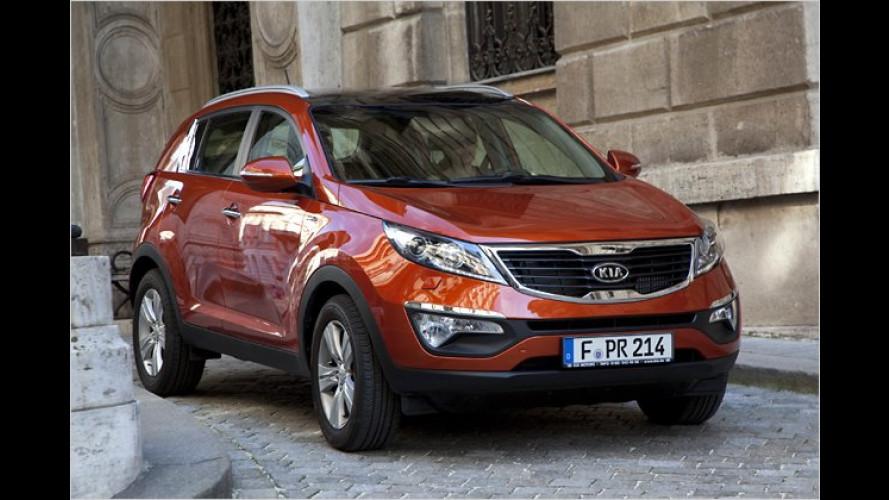 Kia Sportage: Neue Einstiegsmotoren