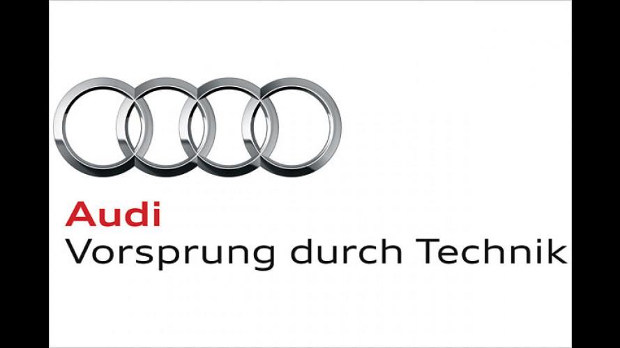 Audi poliert die vier Ringe: Logo-Premiere auf der IAA
