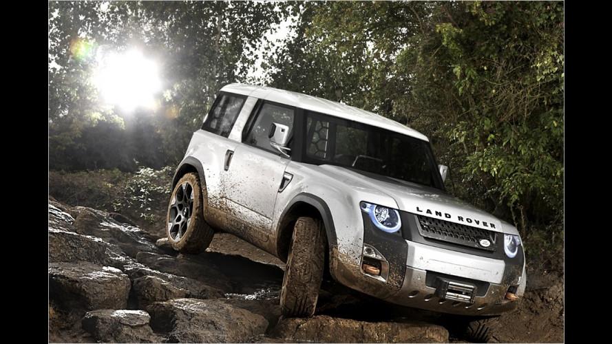 Land Rover auf der IAA: Sieht so der neue Defender aus?