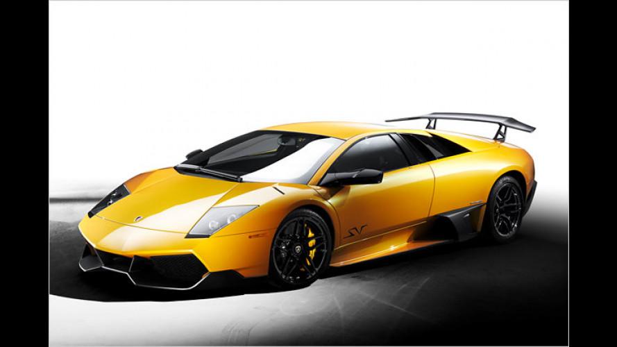 Lamborghini Murciélago LP 670-4 SV: Abgespeckter Stier