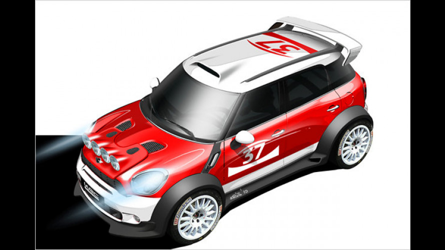 Flottes Comeback: Mini startet in der Rallye-WM