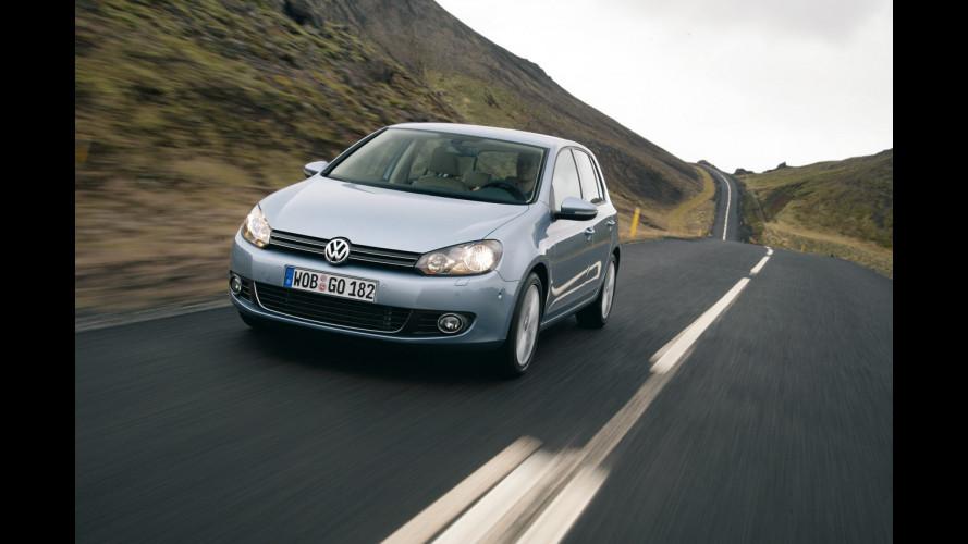Volkswagen Golf regina di vendite anche a giugno 2009