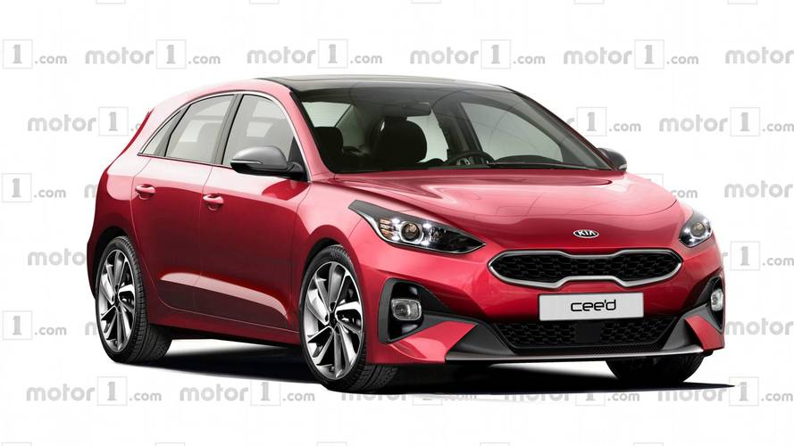 2018 Kia cee'd Rendered With Inspiration From Proceed Concept