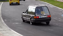 Audi 80 Hearse