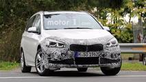 BMW 2 Series Gran Tourer Refresh Spy Photos