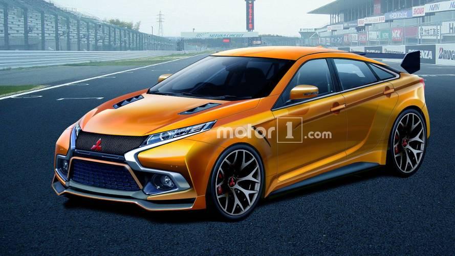 Geleceğin Mitsubishi Evo hâlâ sedan olsaydı?