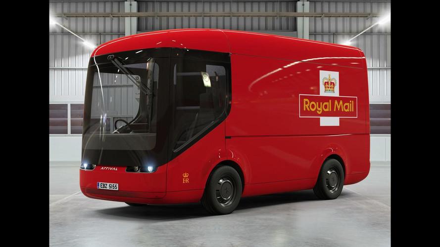 Royal Mail Arrival EV kamyonlar