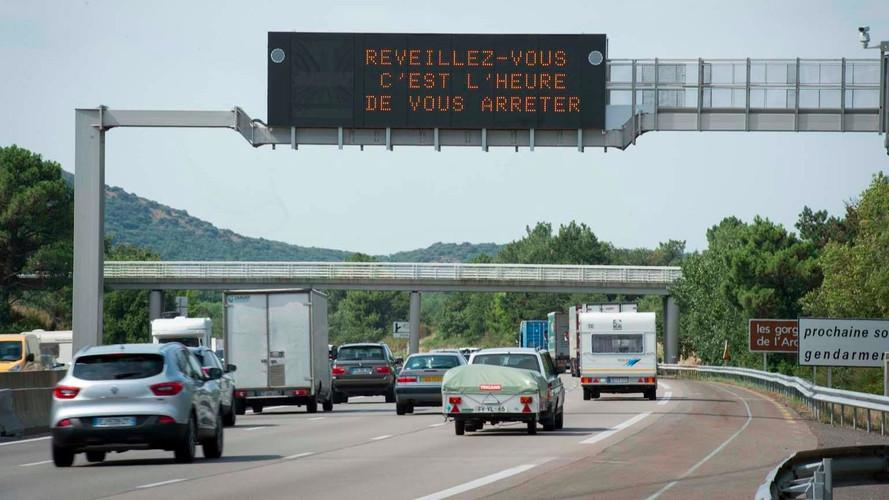 Bison Futé - C'est (encore) ROUGE sur la route des retours !