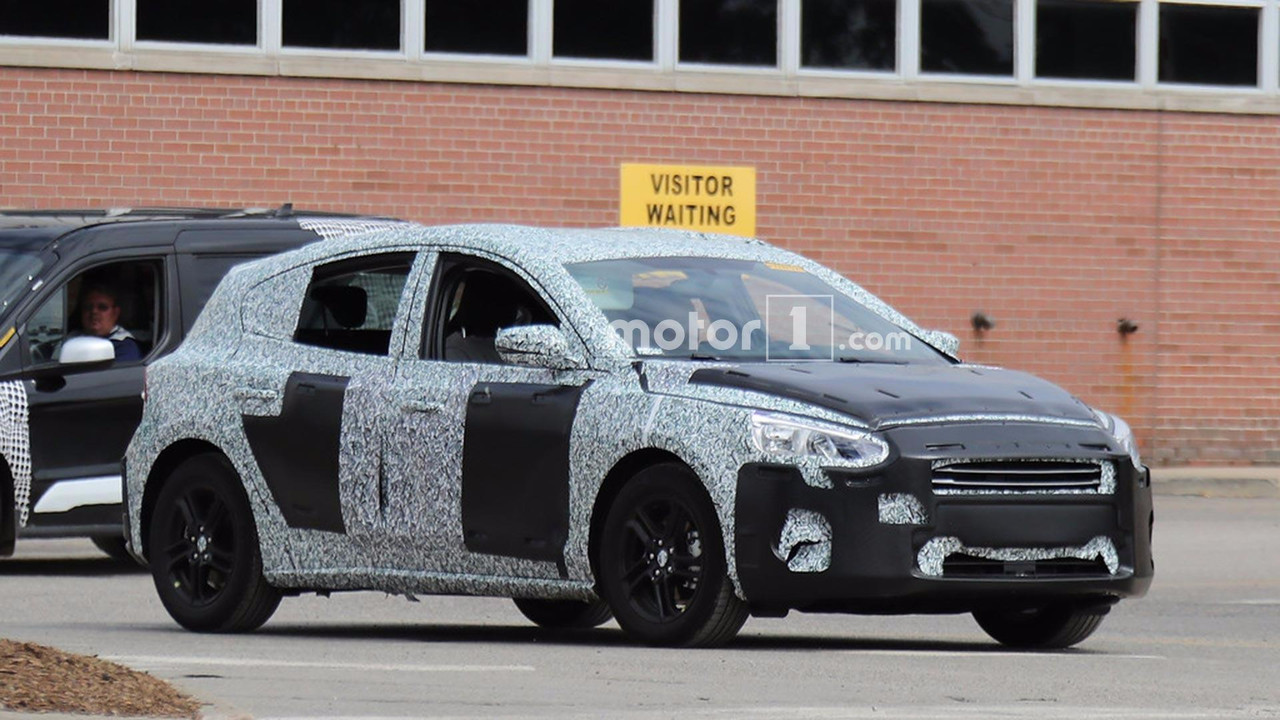Ford Focus 2018 fotos espía