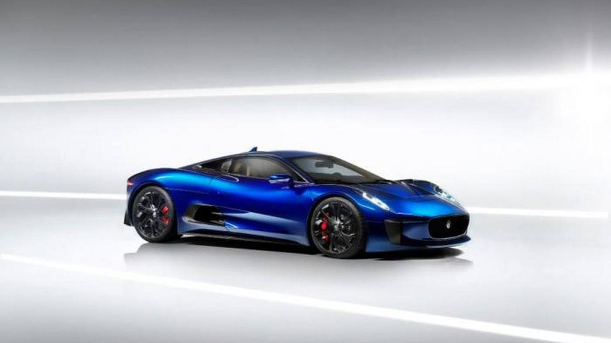 Jaguar C-X75 showcased on video