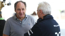 Gerhard Berger (AUT) with Pat Symonds (GBR), 21.02.2014, Bahrain Test One / XPB