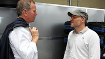 Martin Brundle with Jacques Villeneuve 22.11.2013 Brazilian Grand Prix