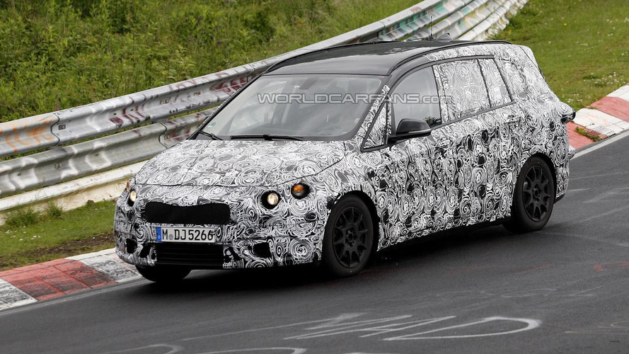 BMW 1-Series GT seven-seater spied again