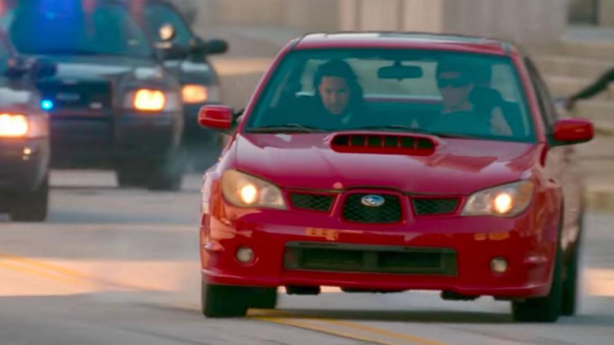 La Subaru Impreza du film Baby Driver vendue !