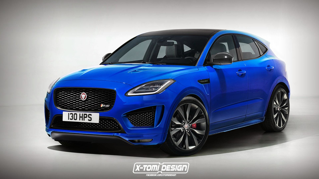 Jaguar E-Pace RS Render